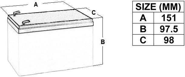 מעולה מצבר עופרת נטען - YUASA NP12-12 - 12V 12AH - טלמיר אלקטרוניקה RR-89
