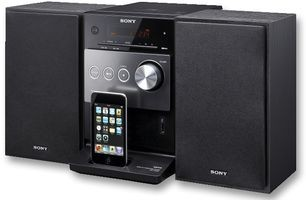 SONY MICRO HI-FI SYSTEM WITH IPOD / IPHONE DOCK