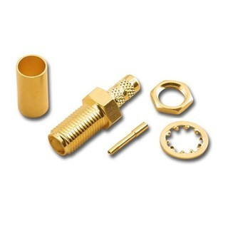AMPHENOL SMA REVERSE POLARITY CONNECTORS AND ADAPTERS
