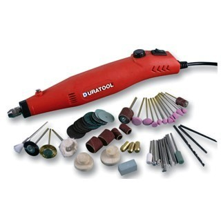 DURATOOL 18V ROTARY TOOL + 60 ACCESSORIES