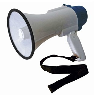 HQ POWER 10W MEGAPHONE