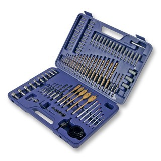 DURATOOL 101 PIECE DRILL BIT AND DRIVER SET