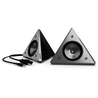 רמקולים למחשב - KWORLD PYRAMID USB SPEAKERS KWORLD
