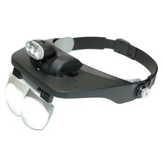 LIGHTCRAFT ILLUMINATED HEADBAND MAGNIFIER KIT