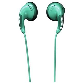 אוזניות כפתור ירוקות - MAXELL BUDZ MAXELL