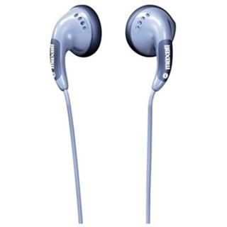 אוזניות כפתור סגולות - MAXELL BUDZ MAXELL