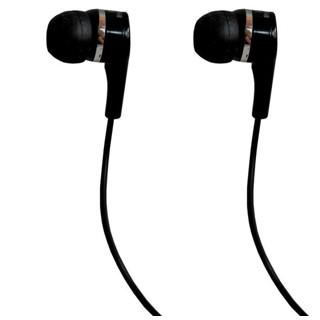 אוזניות סיליקון שחורות - MAXELL VELVET MAXELL