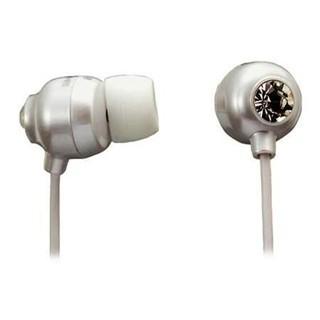 אוזניות סיליקון לבנות - MAXELL CRYSTAL MAXELL
