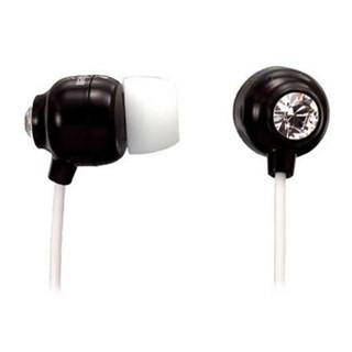 אוזניות סיליקון שחורות - MAXELL CRYSTAL MAXELL