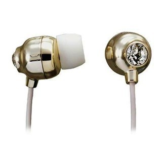 MAXELL EAR BUD EARPHONES WITH CHRYSTALLIZED™ SWAROVSKI ELEMENT