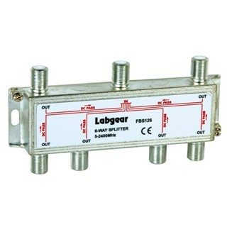 LABGEAR UHF POWER PASS SPLITTERS