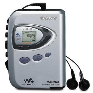 וולקמן עם רדיו SONY WMFX290 - AM/FM SONY