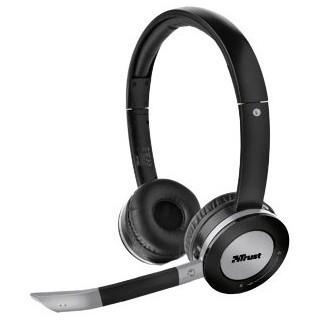 אוזניות אלחוטיות עם מיקרופון למחשב - TRUST FREEWAVE PRO TRUST