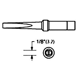 ראש למלחם - WTCP PTM7 - 3.2MM LONG CHISEL WELLER