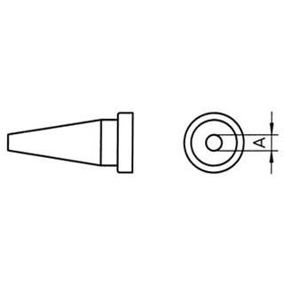ראש למלחם - WELLER LT-AS - 1.6MM ROUND WELLER