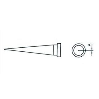 ראש למלחם - WELLER LT-O - 0.8MM LONG CONICAL WELLER