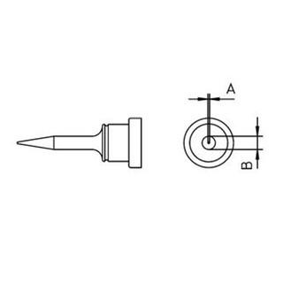 ראש למלחם - WELLER LT-1SC - 0.4MM ROUND SLIM WELLER