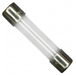 פיוז זכוכית 500MA 6.35X32MM SLOW BLOW MULTICOMP