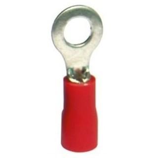 נעל כבל טבעת 6MM - אדום - 100 יחידות MULTICOMP