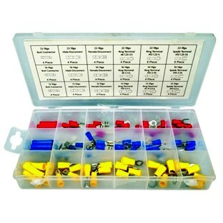 MULTICOMP 100 PIECE INSULATED CRIMP TERMINALS SET