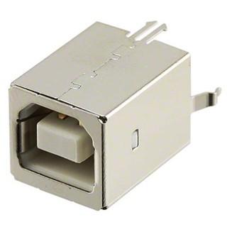 שקע (USB2.0 (B ישר למעגל מודפס MULTICOMP