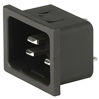 תקע חשמל IEC לפנל 16A SCHURTER