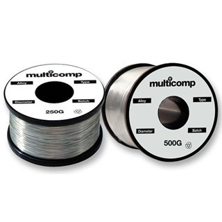 MULTICOMP 60/40 ALLOY ROSIN FLUX SOLDERING WIRES
