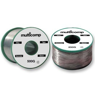 בדיל להלחמה - LEAD FREE - 99.3/0.7 - 0.9MM - 500G MULTICOMP