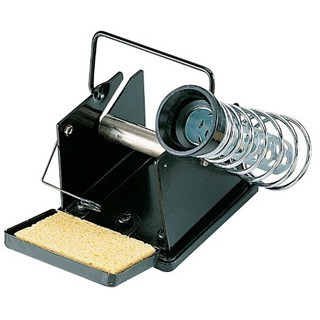 DURATOOL SOLDERING IRON STAND WITH SOLDER WIRE DISPENSER