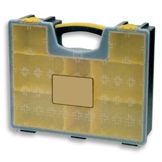 קופסת אחסון לרכיבים עם תאים נשלפים 450X334X115MM DURATOOL