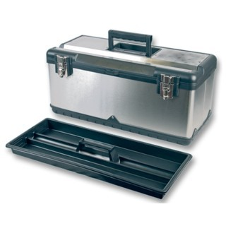 DURATOOL STAINLESS STEEL TOOL BOX