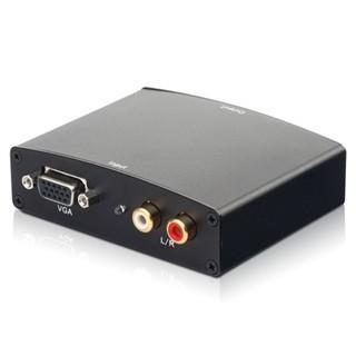 ממיר אקטיבי - HDMI TO VGA + AUDIO PRO-SIGNAL