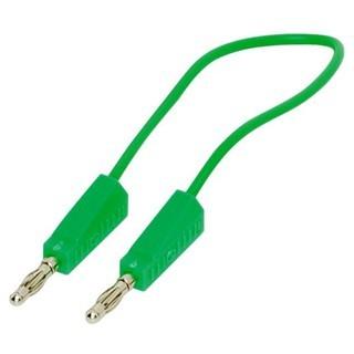 כבל בדיקה ירוק - 4MM PLUG-PLUG 1.5M PRO-SIGNAL