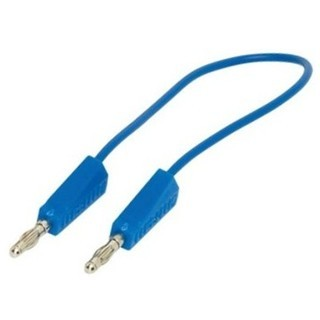 PRO-SIGNAL 4MM PATCH LEADS WITH STACKABLE PLUGS
