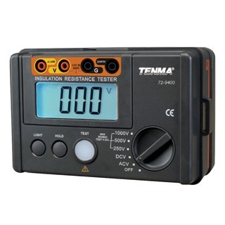 TENMA INSULATION RESISTANCE TESTER