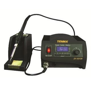 תחנת הלחמה דיגיטלית - 60W TENMA