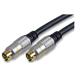 PRO-SIGNAL PROFESSIONAL S-VIDEO PLUG TO PLUG LEADS