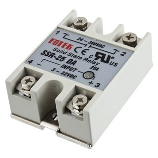 ממסר מצב מוצק - LINEAR SOLID STATE RELAY - 25A FOTEK