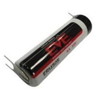 סוללת ליתיום להלחמה למעגל מודפס - AA 3.6V EVE