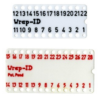 MULTICOMP WIRE WRAP ID TAGS