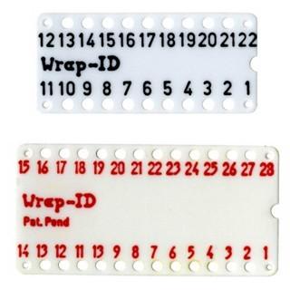 לוחית ID ממוספרת