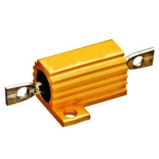 נגד - PANEL MOUNT 10W 5% 1R WELWYN COMPONENTS