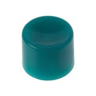 מכסה פלסטיק - עגול ירוק למפסקים MINI PUSH BUTTONS APEM