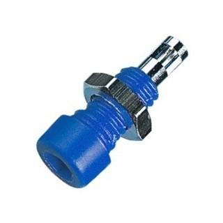 שקע בננה 2MM לפנל - כחול ELECTRO PJP