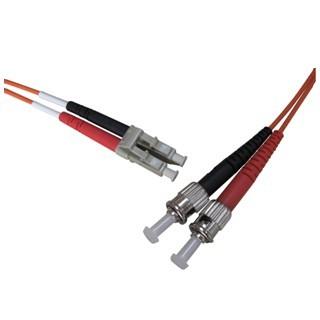 PRO-SIGNAL LC-ST OM1 DUPLEX FIBRE PATCHCORDS