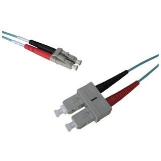 PRO-SIGNAL LC-SC OM3 DUPLEX FIBRE PATCHCORDS