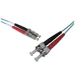 PRO-SIGNAL LC-ST OM3 DUPLEX FIBRE PATCHCORDS