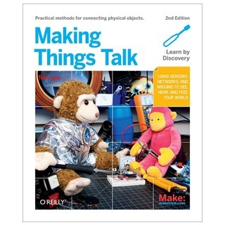 ספר לימוד - ARDIUNO - MAKING THINGS TALK ARDUINO