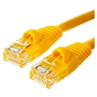 כבל רשת יצוק CAT5E 20M - בידוד צהוב PRO-SIGNAL