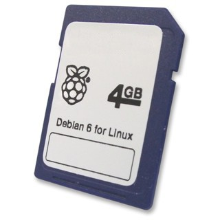 DEBIAN LINUX SD CARD FOR RASPBERRY PI
